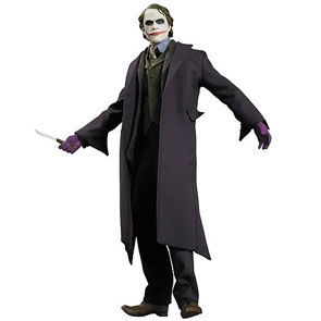 The Dark Knight The Joker 1:6 Scale Deluxe Figure by DC Direct