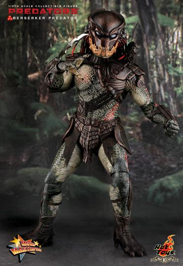 Hot Toys Berserker Predator 1/6th Scale Collectibe Action Figure