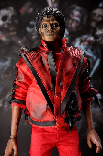 Hot Toys 12 inch Michael Jackson Thriller Action Figure