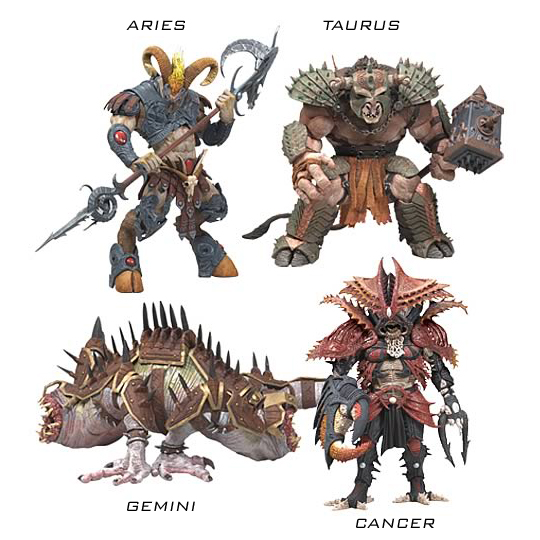 McFarlane Warriors of the Zodiac Mcfarlane-warriors-of-the-z
