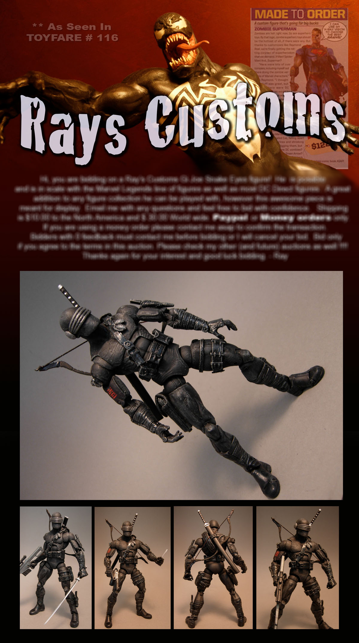Ray's Custom Action Figures
