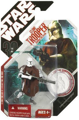 30th Anniversary Star Wars Hawkbat Battalion Clone Trooper Action Figure