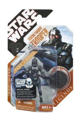 Star Wars Saga Legends Utapau Shadow Trooper Action Figure