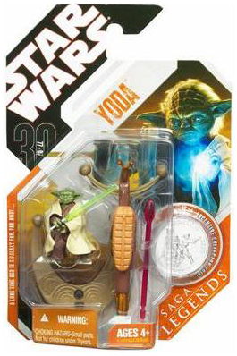Star Wars Saga Legends Yoda Action Figure