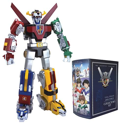 Voltron - Masterpiece Collector Action Figure by Toynami
